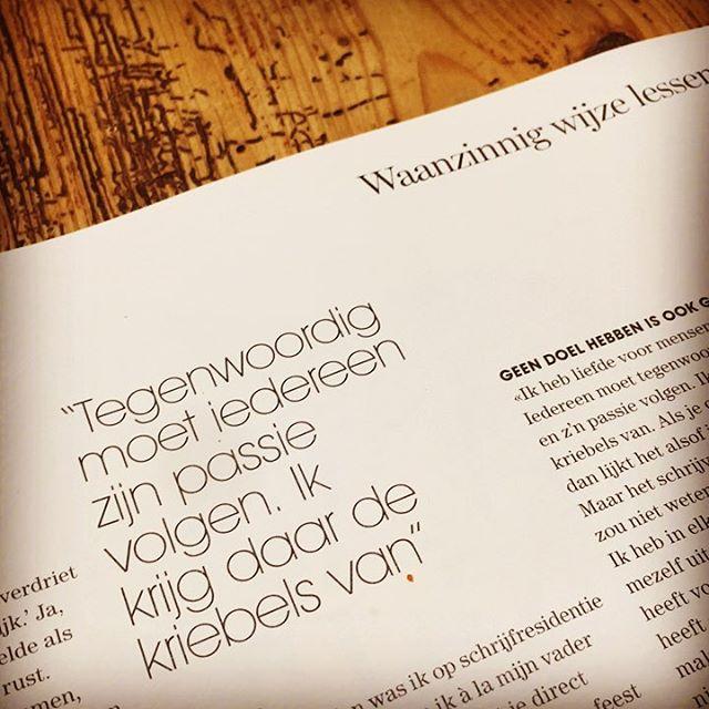 Lezen dat interview met @almamathijsen in @marieclaire_nl #inspiratie #psychotherapie #vaktherapie #persoonlijkheid #autonomie #chips #rouw