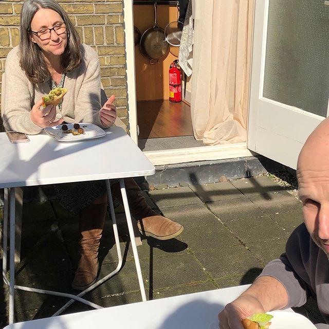 Ons zonnetje @jankescharff in het zonnetje 🌞