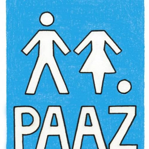 Voorkant van het boek 'Paaz'